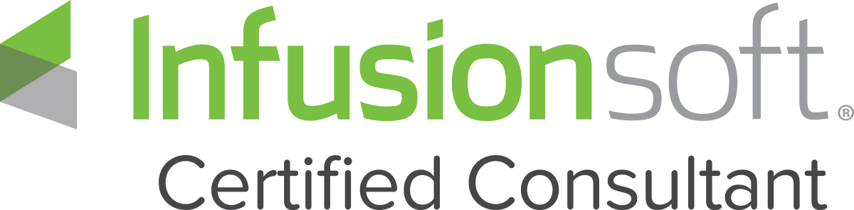 Infusionsoft Certified Consultant logo - dark
